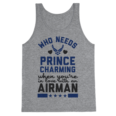In Love with a Fly Boy (Air Force T-Shirt) Tank Top