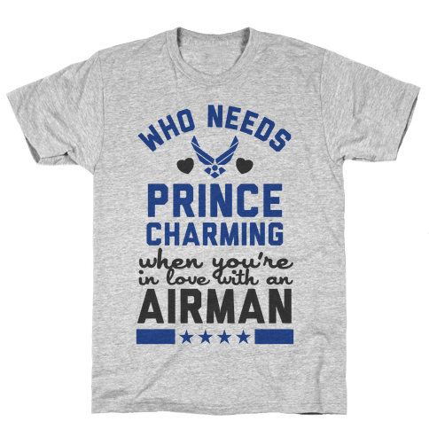 In Love with a Fly Boy (Air Force T-Shirt) Mens T-Shirt