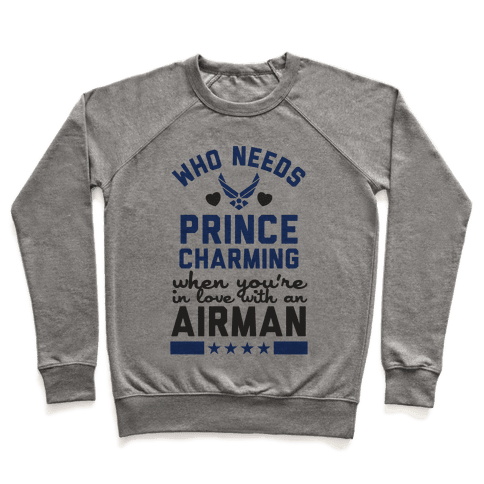 In Love with a Fly Boy (Air Force T-Shirt) Pullover