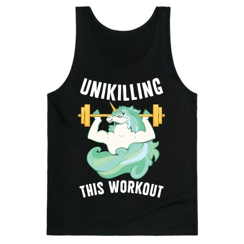 Unikilling This Workout Tank Top