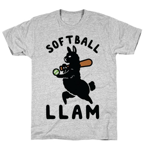 Softball Llam T-Shirt