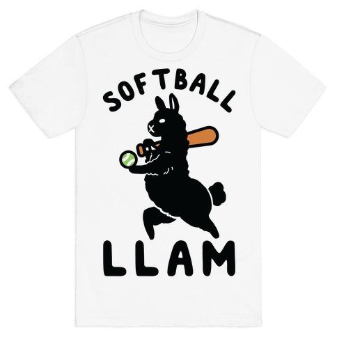 Softball Llam T-Shirt