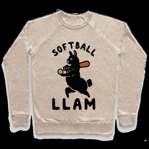 Softball Llam Pullover