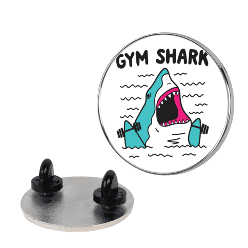 Gym Shark Pin