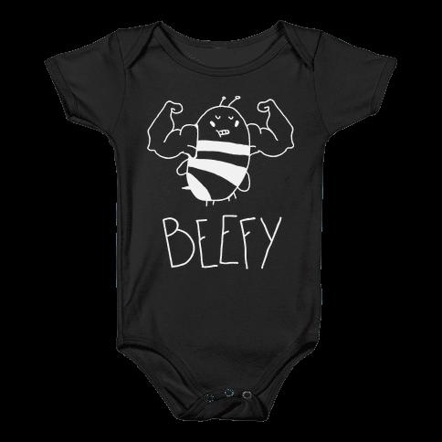 Beefy Baby Onesy