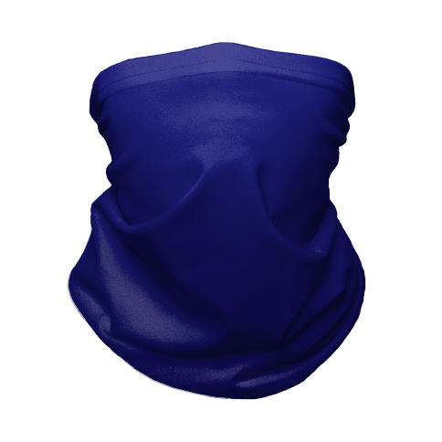Navy Gradient Neck Gaiter