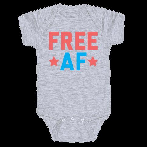 Free AF Baby Onesy