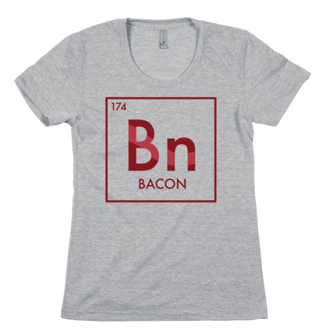 Bacon Science Womens T-Shirt