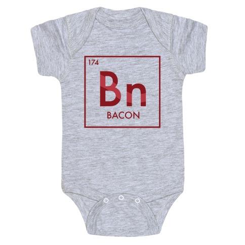 Bacon Science Baby Onesy