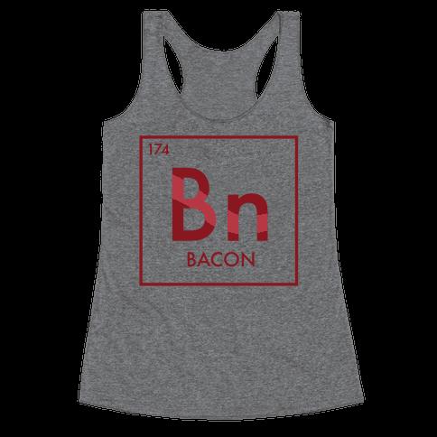Bacon Science Racerback Tank Top