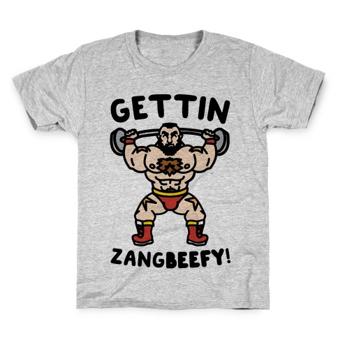 Gettin Zangbeefy Parody Kids T-Shirt