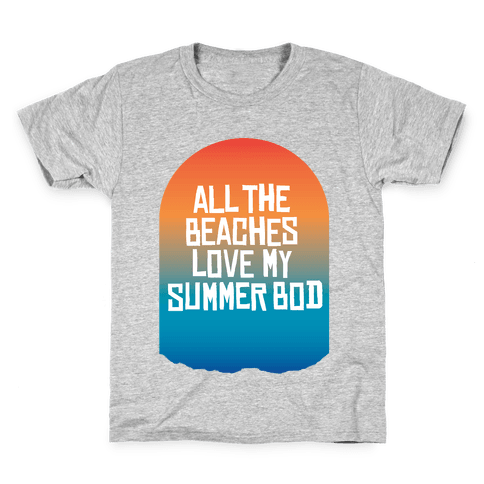All the Beaches Kids T-Shirt