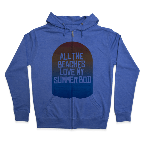 All the Beaches Zip Hoodie