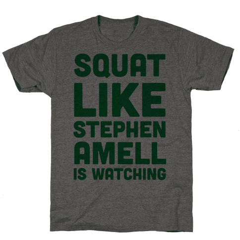 Squat Like Stephen Amell Is Watching