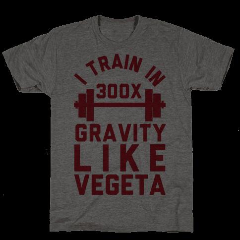 I Train In 300x Gravity Like Vegeta