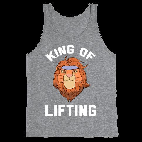 King Of Lifting Tank Top