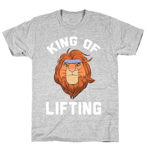King Of Lifting Mens T-Shirt