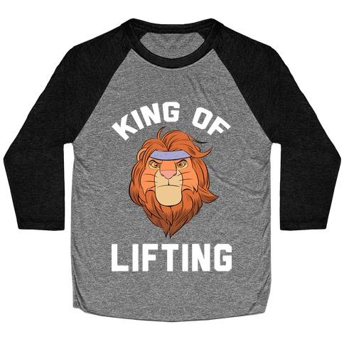 King Of Lifting Baseball Tee