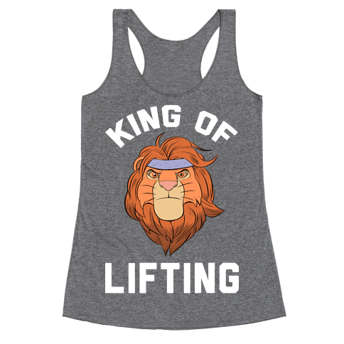 King Of Lifting Racerback Tank Top