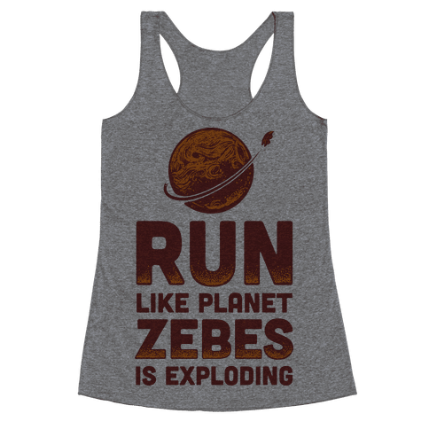 Run Like Planet Zebes Is Exploding