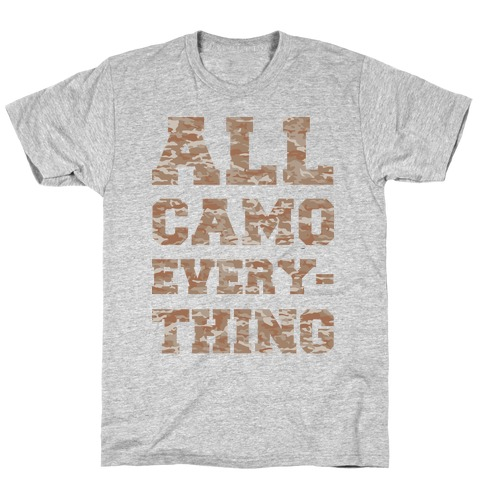 All Camo Everything T-Shirt