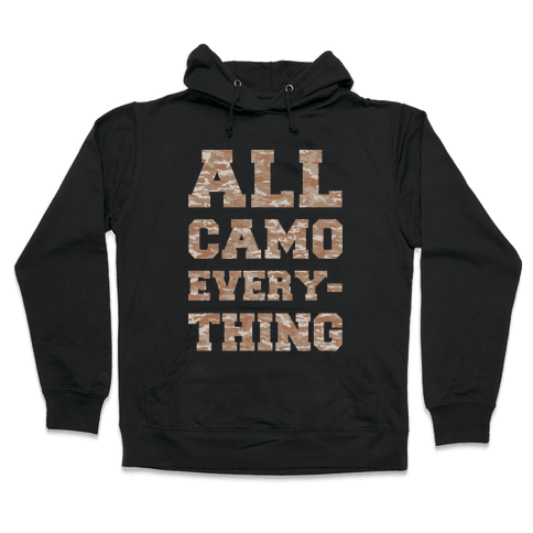 All Camo Everything Hooded Sweatshirt