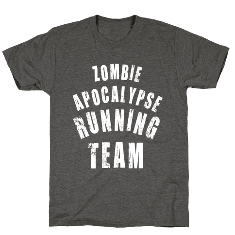 Zombie Apocalypse Running Team (White Ink)
