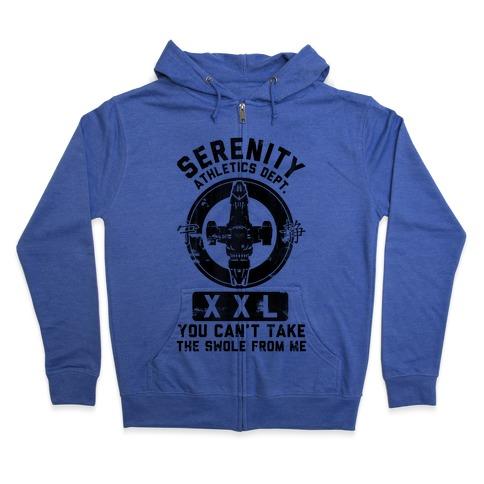 Serenity Athletics Department Zip Hoodie