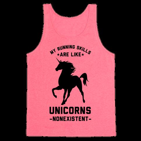 My Running Skills Are Like Unicorns Nonexistent