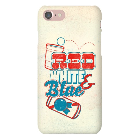 Red White and Blue Phone Case