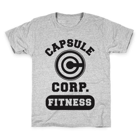 Capsule Corp. Fitness Kids T-Shirt