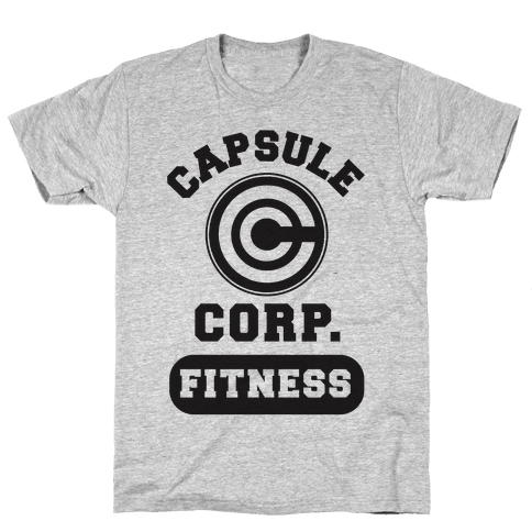Capsule Corp. Fitness Mens T-Shirt