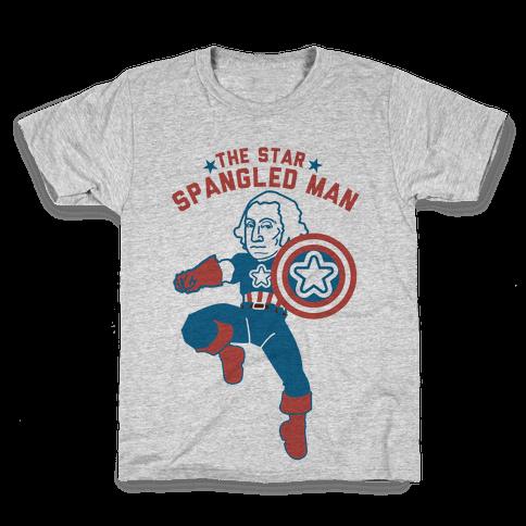 The Star Spangled Man Kids T-Shirt