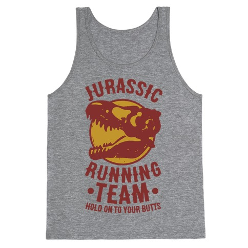 Jurassic Running Team Tank Top