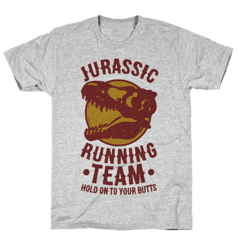 Jurassic Running Team Mens T-Shirt