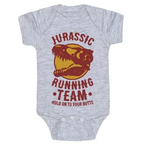 Jurassic Running Team Baby Onesy