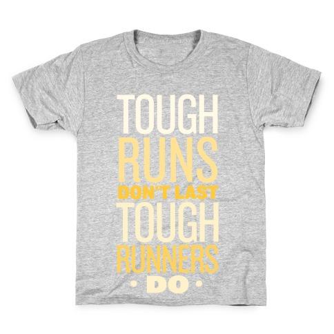 Tough Runners (Gold) Kids T-Shirt