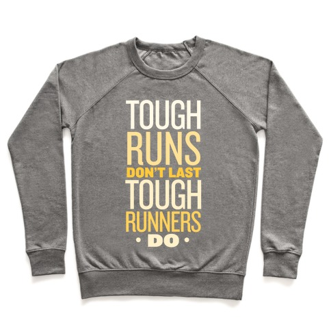 Tough Runners (Gold) Pullover