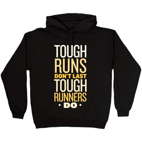 Tough Runners (Gold) Hooded Sweatshirt