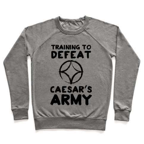 Training to Defeat Caesar's Army Pullover