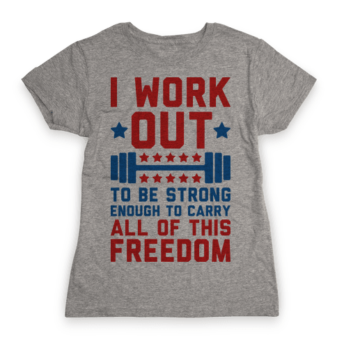 Carry All Of This Freedom Womens T-Shirt