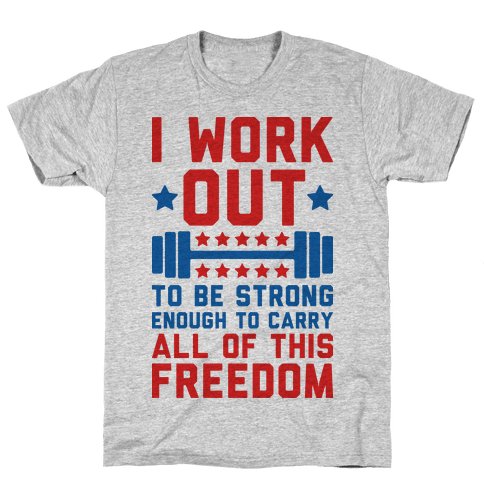 Carry All Of This Freedom Mens/Unisex T-Shirt