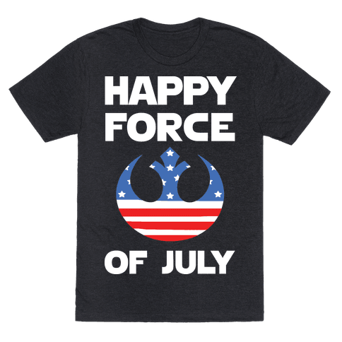 Happy Force Of July Mens T-Shirt