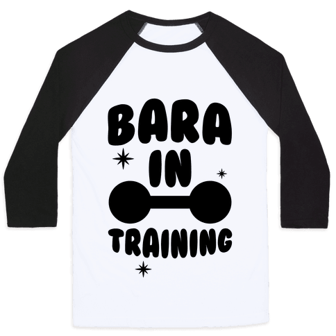 Bara In Training Baseball Tee