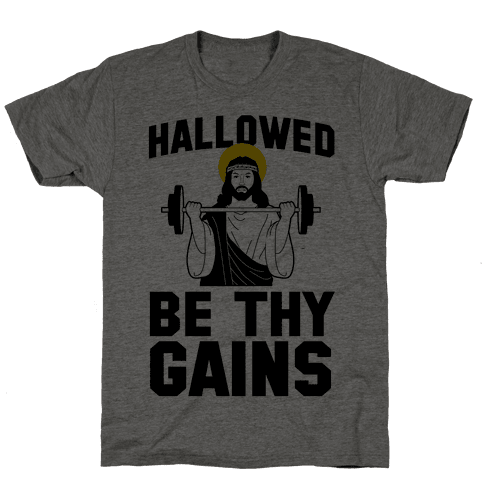 Hallowed be thy Gains