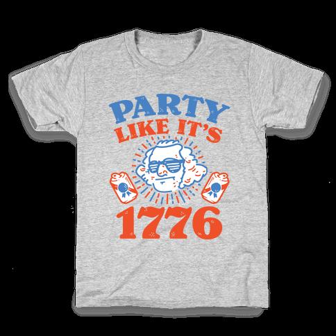 Party Like It's 1776 Kids T-Shirt