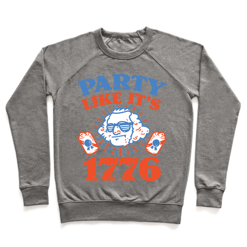 Party Like It's 1776 Pullover