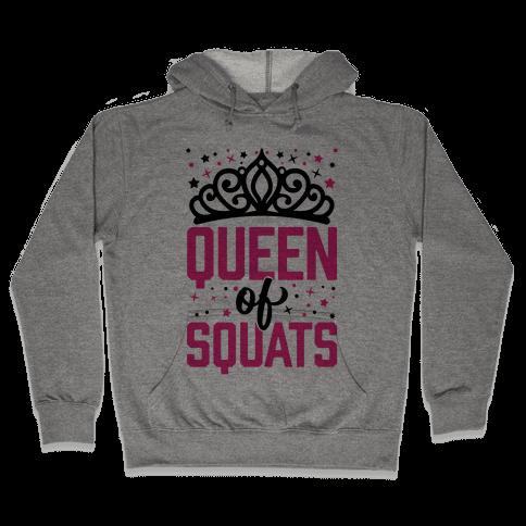 Queen Of Squats Hooded Sweatshirt