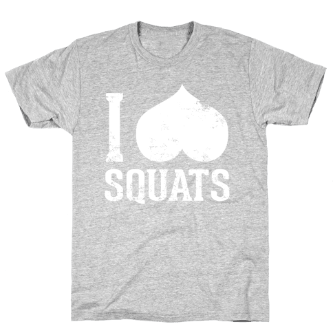 Squats (Dark Tank) Mens T-Shirt