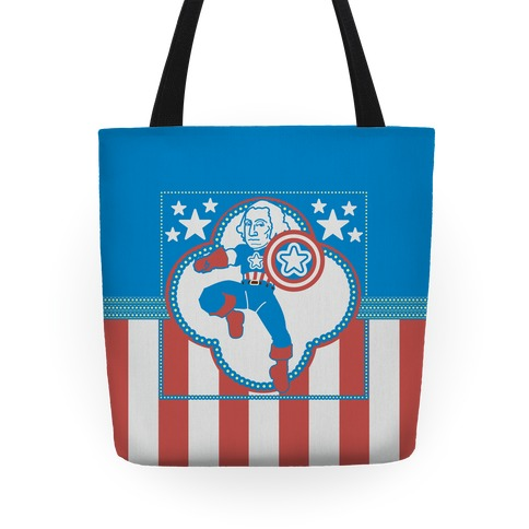 The Star Spangled Man Tote